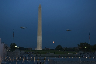 Monument, Moon, and Marines